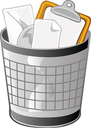 Recuperar archivos de la papelera